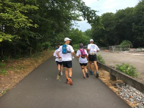 Bike path on Freedom Run