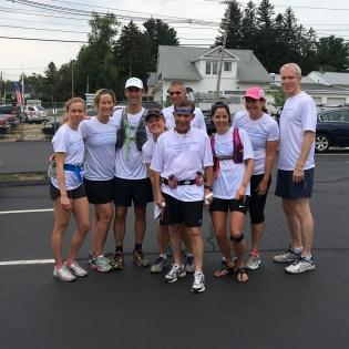 Freedom Run 2016 at the final 10K mark