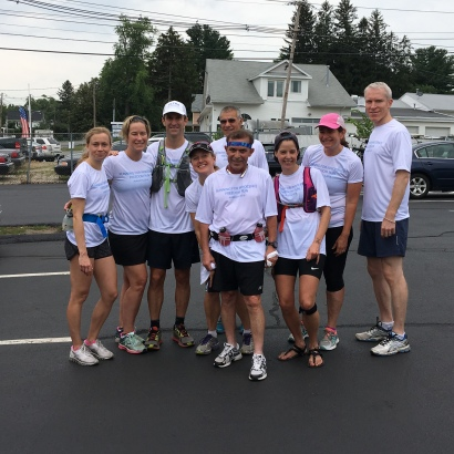 Freedom Run 2016 at the final 10K mark